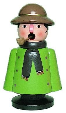 Smoker farmer green 13cm