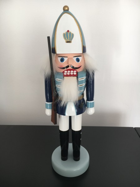 Erzgebirge German nutcracker Prussian Grenadier 11.81 inch