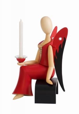 Angel Sternkopf Sexy Lady sitting