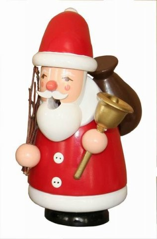 Christmas Smoker Santa Claus 13cm